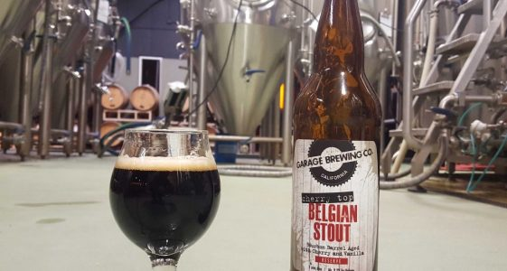 Garage Brewing Cherry Top Belgian Stout