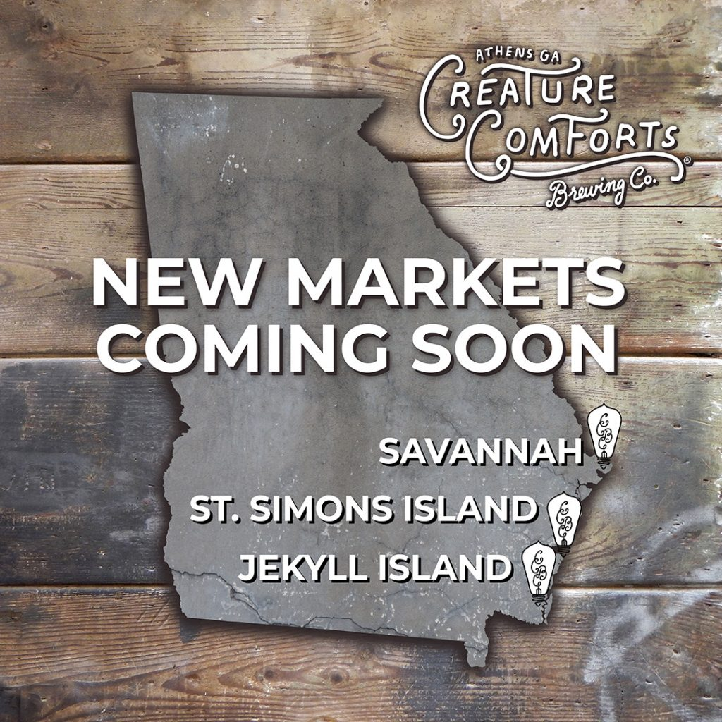 Creature Comforts New Georgia Markets 2019