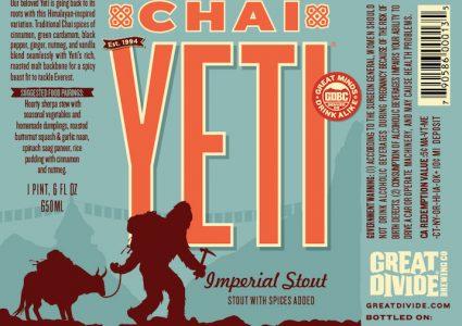 Great Divide Chai Yeti