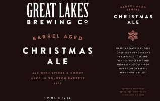 Great Lakes 2017 Barrel Aged Christmas Ale