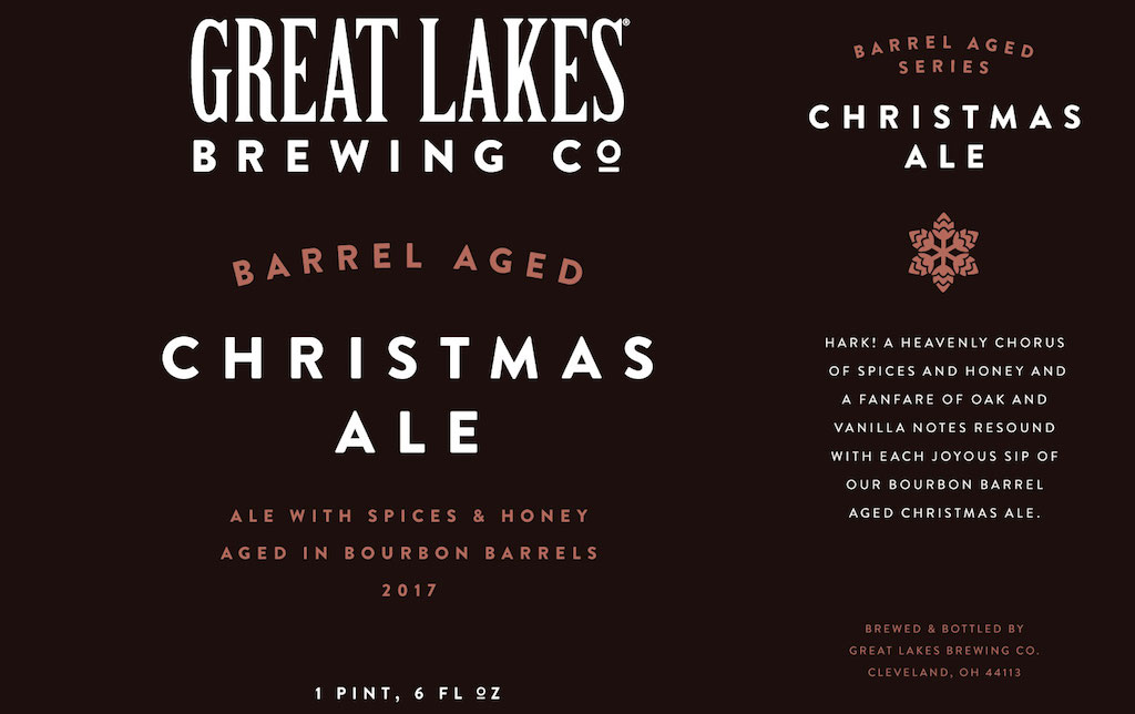 Cleveland Christmas Bourbon.Great Lakes Barrel Aged Christmas Ale Release Details