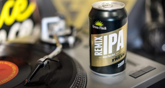 Green Flash Remix IPA Can