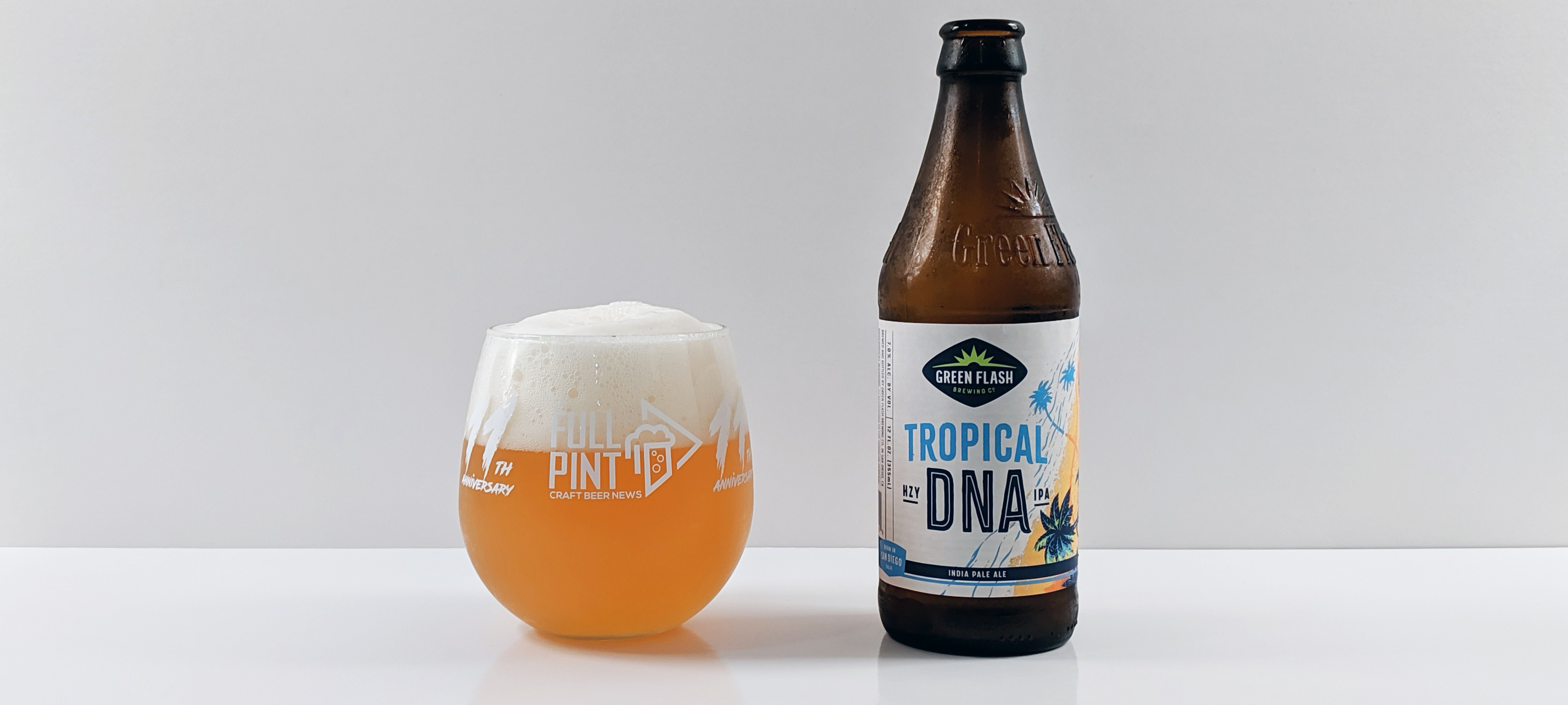 Green Flash Tropical DNA Hazy IPA