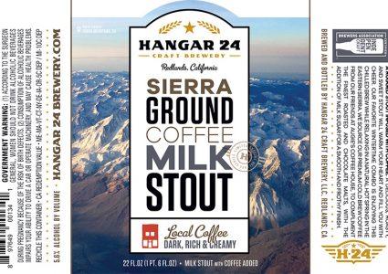 Hangar 24 - Sierra Ground Coffee Milk Stout (Label)