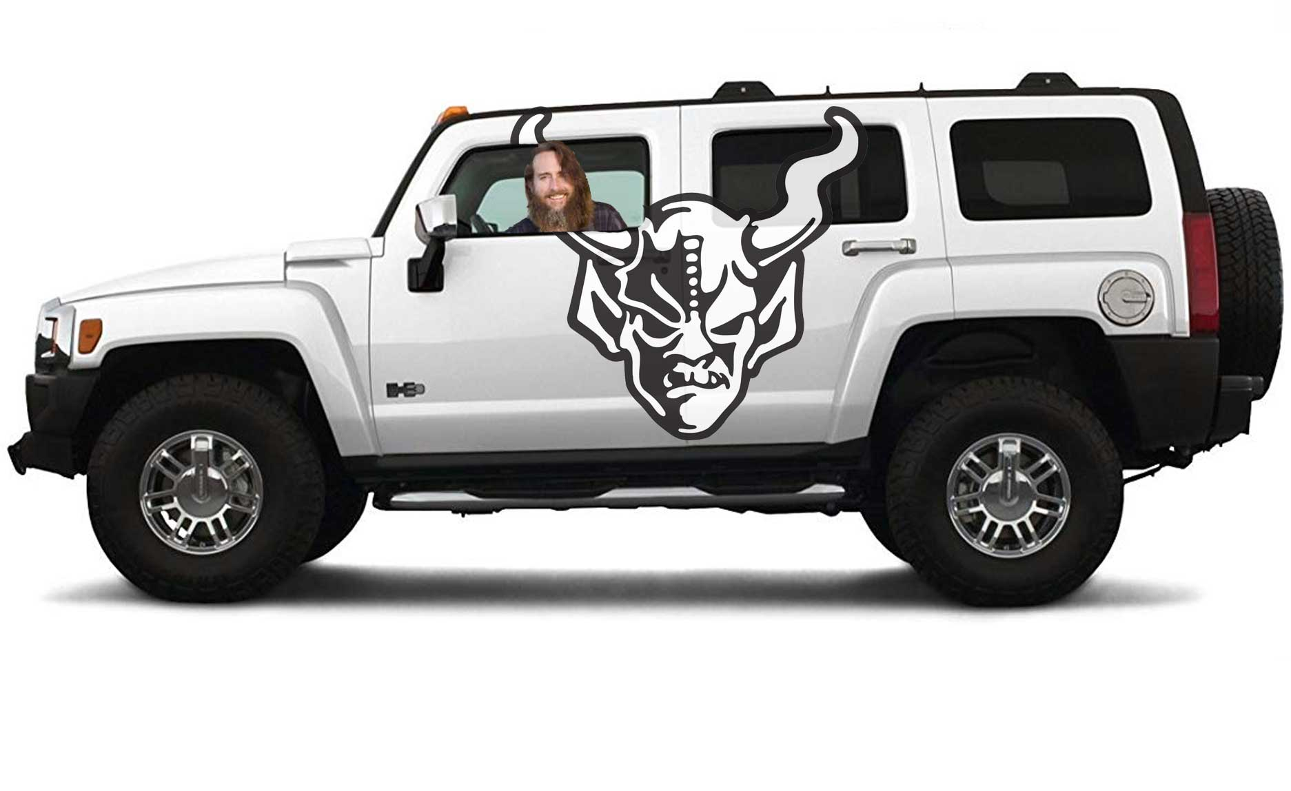 H3 Hummer Stone Brewing