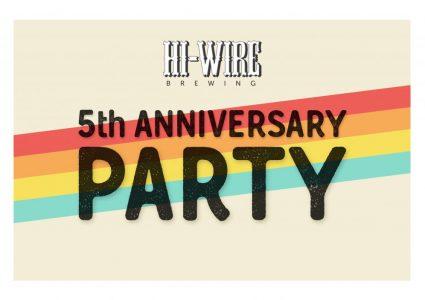 Hi-Wire 5th Anniversary