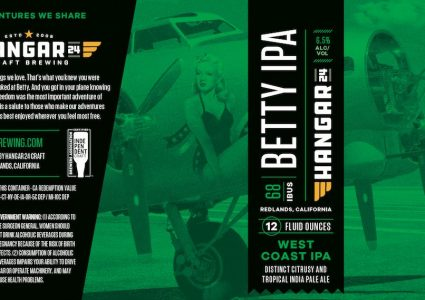 Hangar 24 Betty IPA 2018