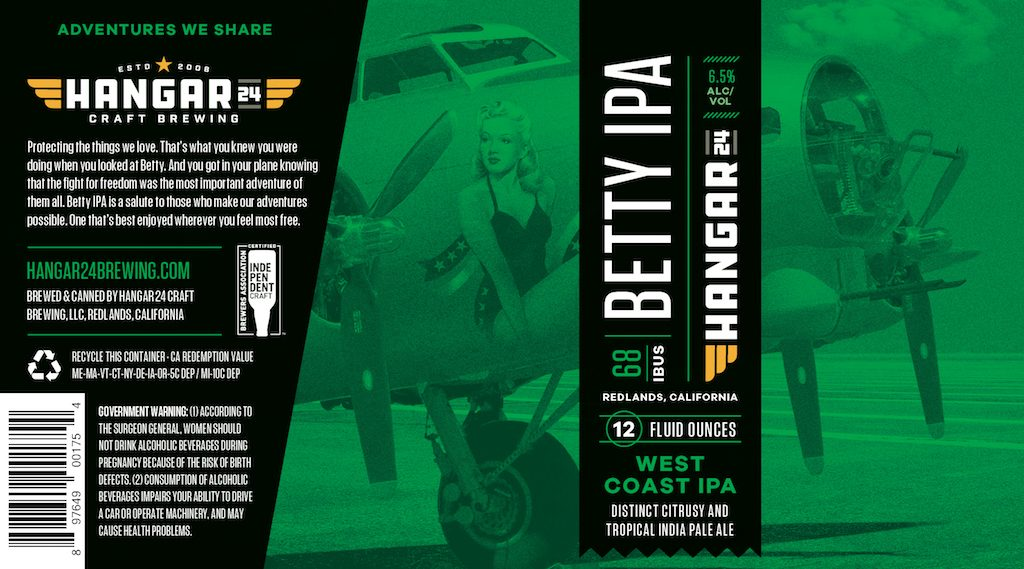 Hangar 24 Betty IPA 2018