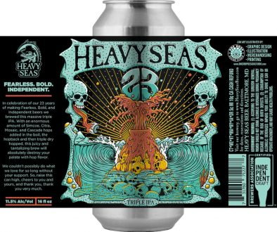Heavy Seas Beer 23rd Anniversary