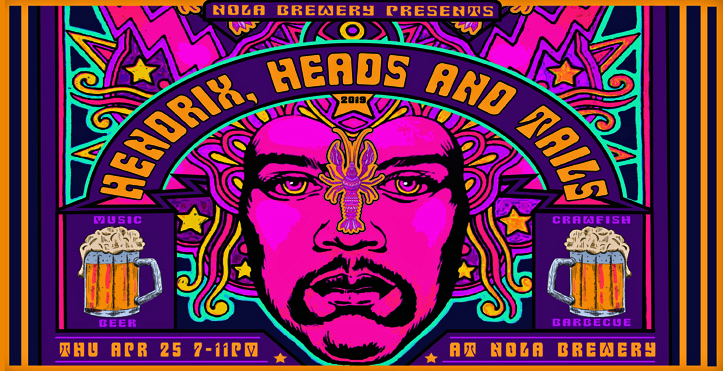 NOLA Brewing - Hendrix, Heads & Tails 2019