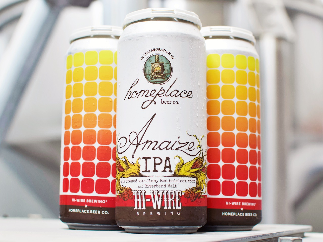 Hi-Wire Homeplace Amaize IPA