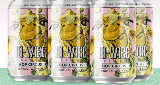 Hi-Wire Hop Circus Tropical White IPA
