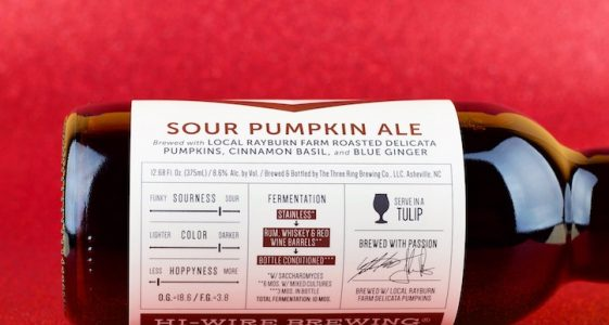 Hi-Wire Pumpkin Sour Ale