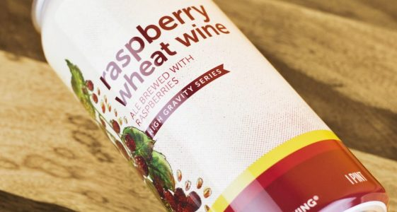 Hi-Wire Raspberry Wheat Wine