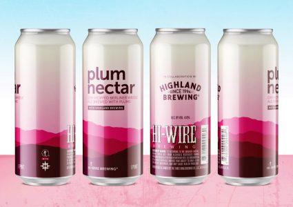 Hi-Wire Brewing & Highland Brewing - Plum Nectar