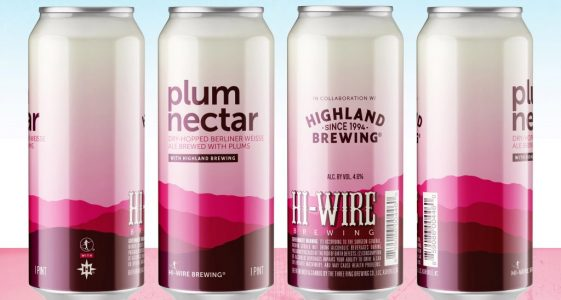 Hi-Wire Brewing & Highland Brewing - Plum Nectar
