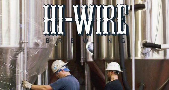 HiWire Brewing Tanks