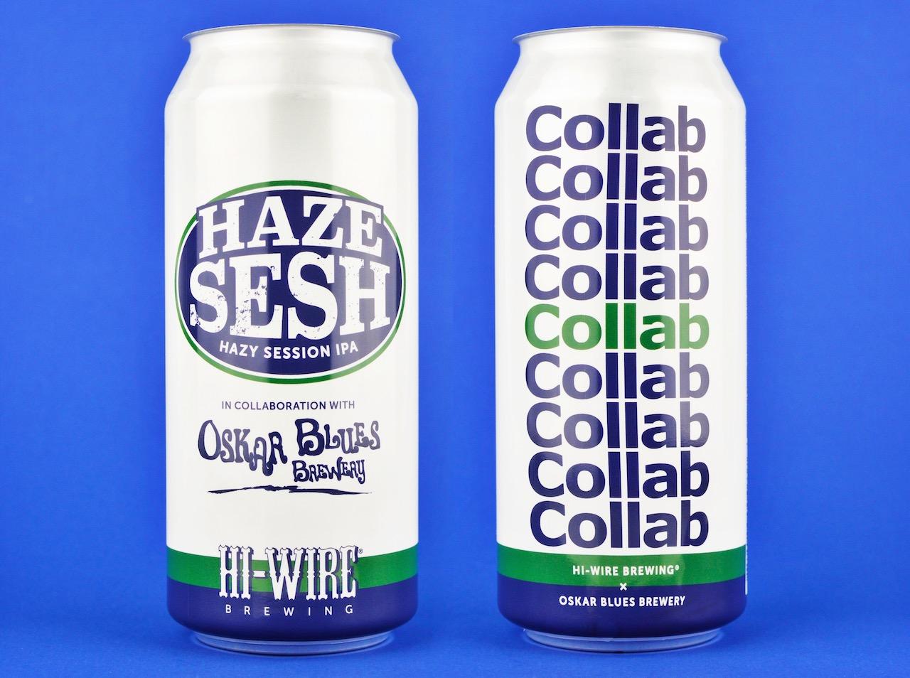 HiWire Oskar Blues Hazy Sesh