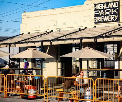 Highland Park Brewery Patio