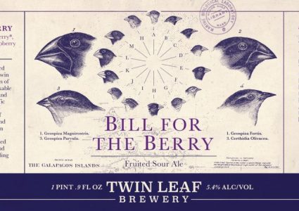 Twin Leaf Brewery - Bill for the Berry