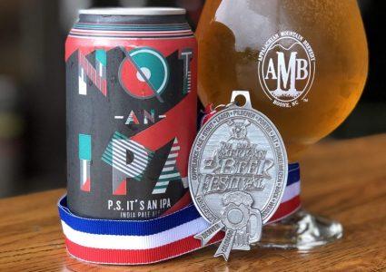 Appalachian Mountain Brewery - Not AN IPA