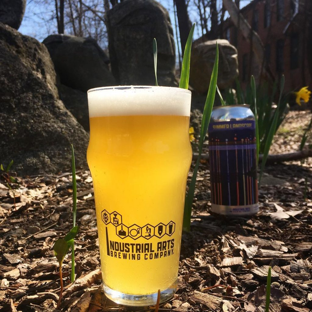 Industrial Arts Brewing Lager