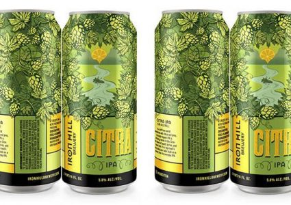 Iron Hill Citra IPA Cans