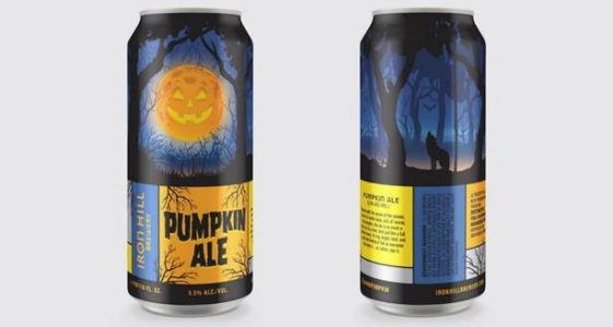 Iron Hill Pumpkin Ale Cans