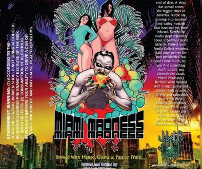 J Wakefield Miami Madness 2019 Label