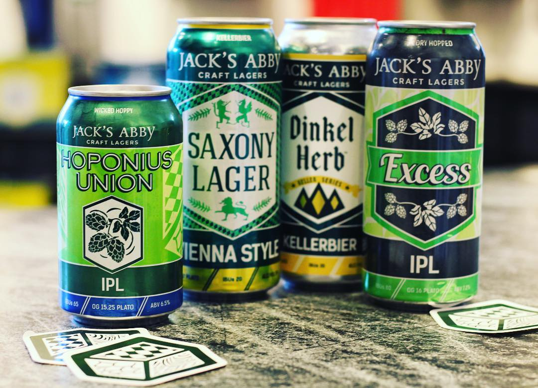 Jack's Abby Lager Cans