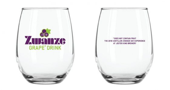 Jester King Zwanze Glassware