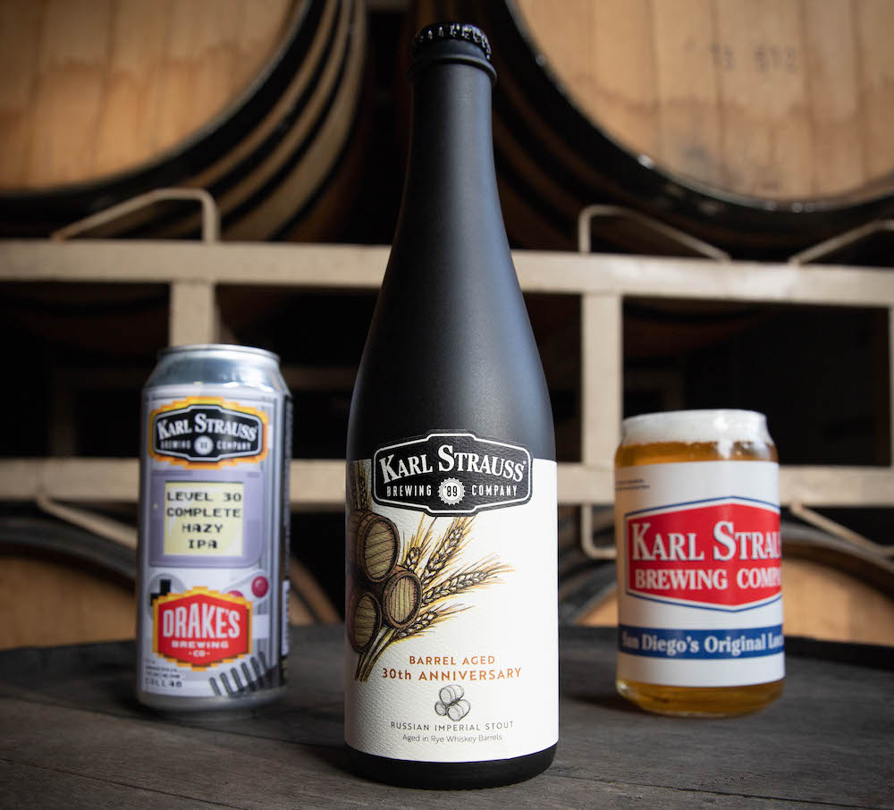 Karl Strauss Brewing Celebrates 30 Years With Limited Release Beers