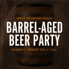 Kulshan Brewing - Barrel Aged Beer Party