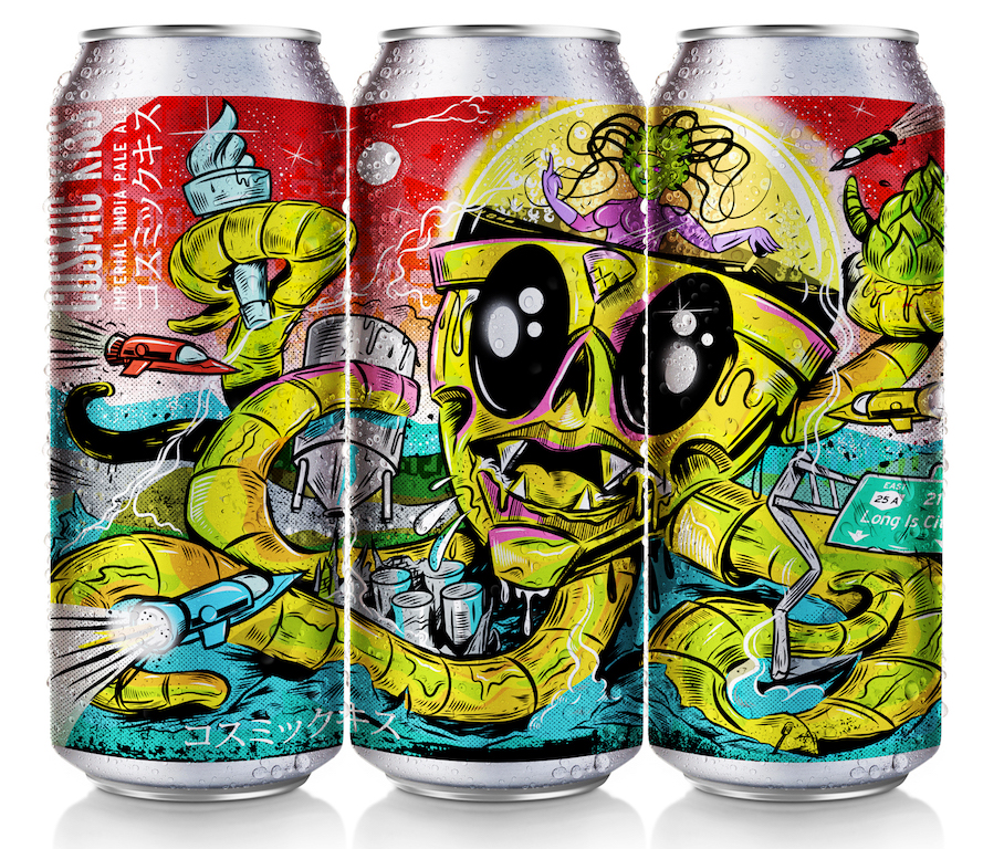LIC Beer Project -CosmicKiss