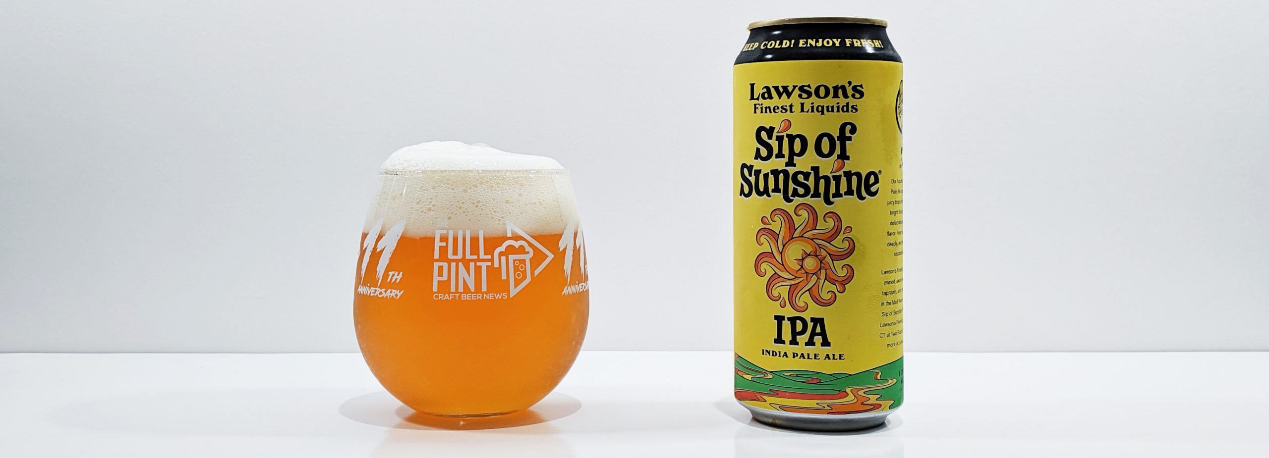 Lawson's Finest Liquids Sip of Sunshine IPA