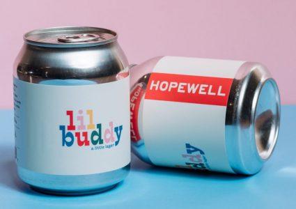 Hopewell Brewing - Lil Buddy (8oz can)