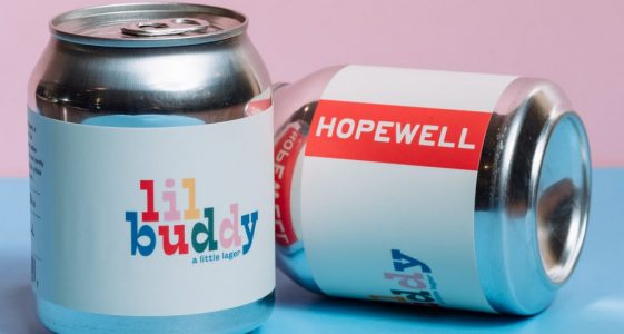 Hopewell Brewing - Lil Buddy (8oz can)