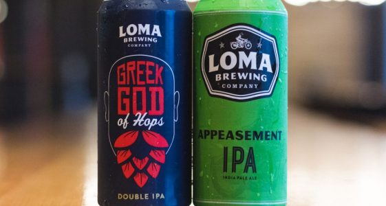 Loma Brewing cans