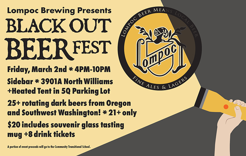 Lompoc Brewing - Blackout Beer Fest 2018