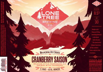 Lone Tree Cranberry Saison