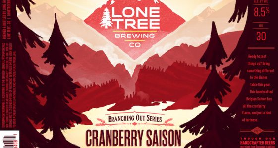 Lone Tree Cranberry Saison