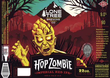 Lone Tree Hop Zombie Label 2018
