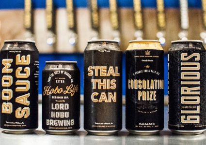 Lord Hobo Brewing Cans