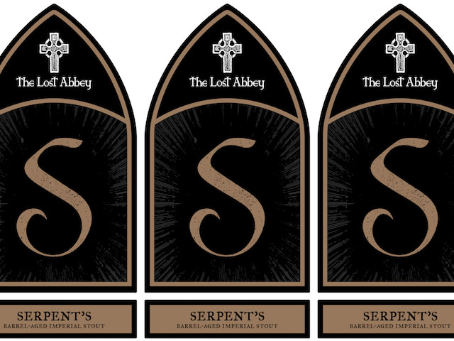 Lost Abbey Barrel-Aged Serpent's Stout