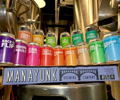 Manayunk Brewing 2019 Cans