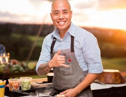 Maui Brewing Chef Jojo Vasquez