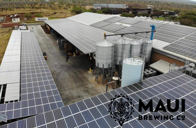 Maui Brewing Co Solar Rooftop