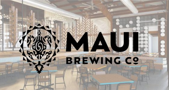Maui Brewing Restaurant With Logo