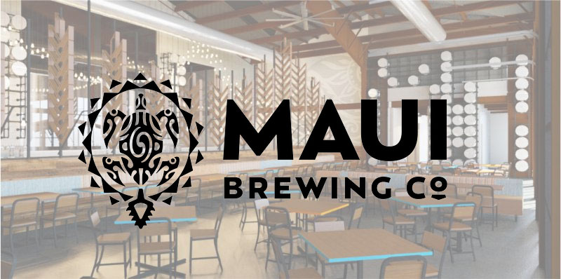 Maui Brewing Restaurant With Logo
