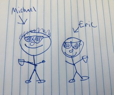 Michael and Eric